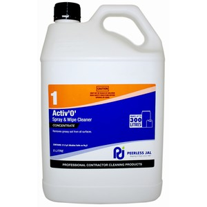 Active O #1 Spray & Wipe Concentrated 5L