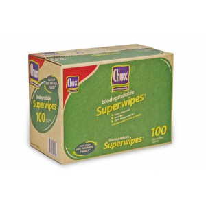 """""""CHUX"""" Biodegradable Superwipes 100's"""