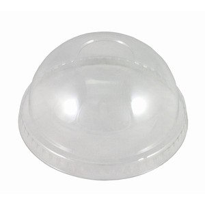 Dome Lid to suit clear plastic cup 7oz - 12oz