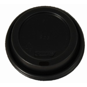 Lid Black Suits 8oz Hot Cup