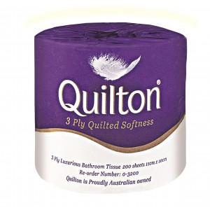 "0-3200 ""Quilton"" 3 ply Premium T/Roll"