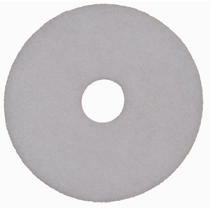 Floor Pad Reg White 400mm