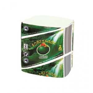 "EC250 ""EarthCare"" 2 ply Interleaved Toilet Tissue"