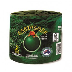 "EC4001 ""EarthCare"" 2 ply Toilet Roll"