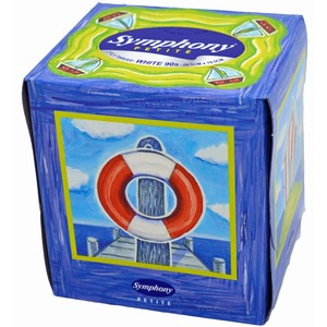 """ABC"" 2 ply Facial Tissue Cube 12 per carton"