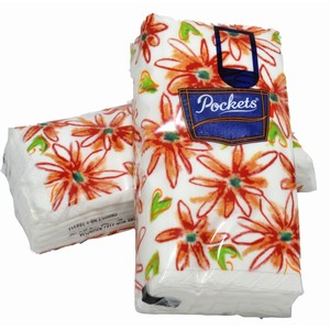 """Pockets"" 3 ply Facial Tissue Pack 6 x 6 pack"