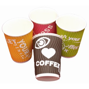 Callisto Double Wall 4 Colour Cup 285ml/8oz
