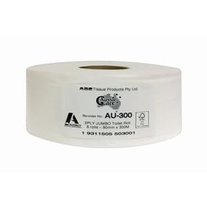 AU300 Aussie Care 2ply Premium Jumbo T/Roll