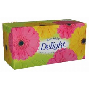 "A-000043 ""Delight"" 2 ply Facial Tissue"