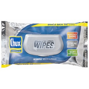 """CHUX"" Stainless Steel Wipes"
