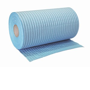 "0-7024B ""ABC"" Industrial Wiper Roll Blue"