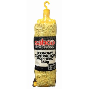 """Sabco"" Contractor Mop Head 350gm Yellow"