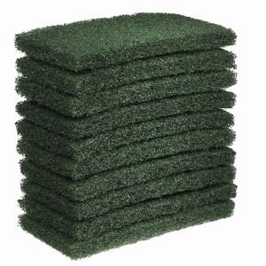 """Oates"" Green Floor Pad 10pk"