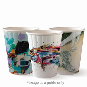 BioPak DblW Cup Art Series 12oz