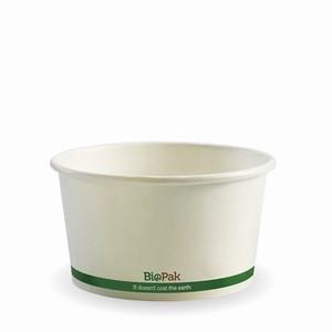 BioPak Hot Paper Bowl White 12oz 500ctn