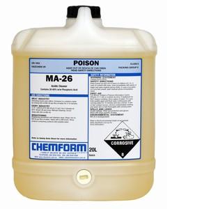 MA-26 Liquid Acidic Detergent 20L