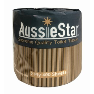 Toilet Roll AUSSIESTAR 2Plyx400sheet 48's