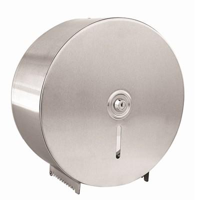 Abc Single Stainless Steel Jumbo Toilet Roll Dispenser