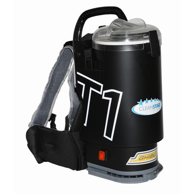 Vacuum Backpack Ghibli T1V3 Short Lead Black