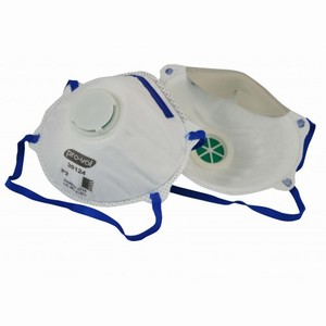 Respirator P2 with conical valve