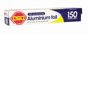 OSO Aluminium Foil Wide 150m x 44cm