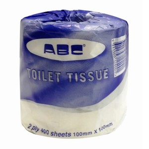 "S-400 ""ABC"" 2 ply Deluxe Toilet Roll"