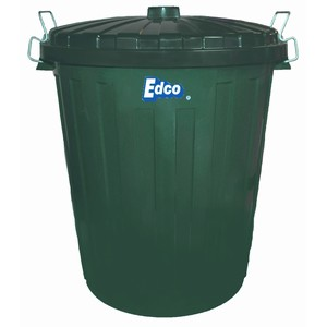 Edco Garbage bin with lid 73L