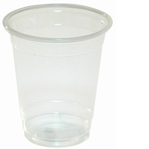 Clear Cold Plastic Cup 7oz
