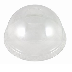 Dome Lid to suit clear plastic cup 15oz - 22oz