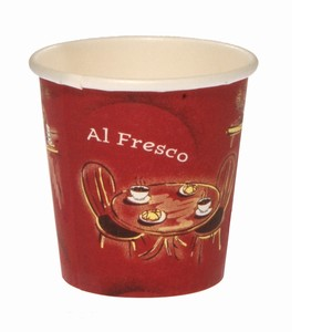 Hot Cup Alfresco 4oz, 1000/ctn