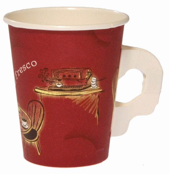 Hot Drink Cup Alfresco With Handle 8oz