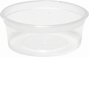 Round Dipping Sauce Container 100ml