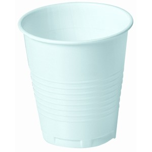 Huhtamaki 175ml White Plastic Cup
